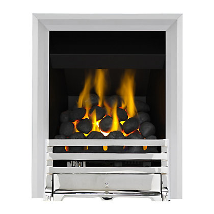 Image for Grange Chrome Full Depth Convector Gas Fire from StoreName