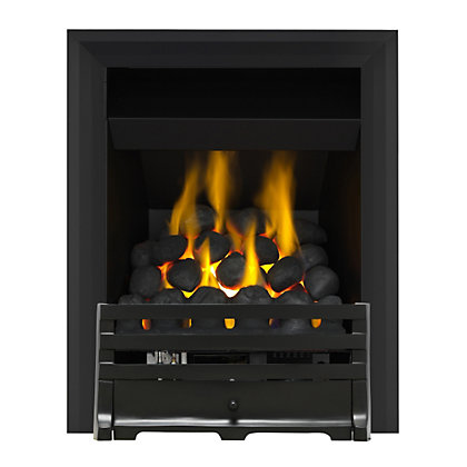 Image for Grange Black Full Depth Convector Gas Fire from StoreName