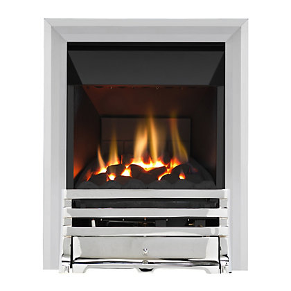 Image for Grange Chrome High Efficiency Gas Fire from StoreName