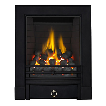 Image for Stroud Black Full Depth Radiant Gas Fire from StoreName