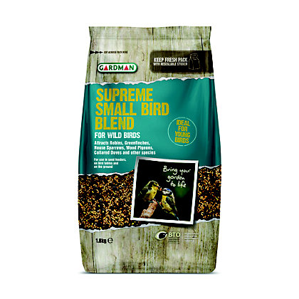 Image for Gardman Supreme Small Bird Blend - 1.8kg from StoreName