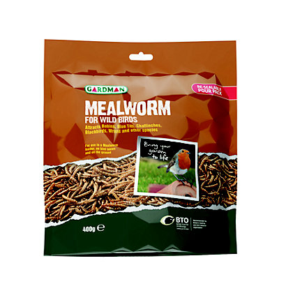 Image for Gardman Mealworm Pouch - 400g from StoreName