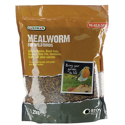 Image for Gardman Mealworm Pouch - 1.2kg from StoreName