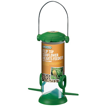 Image for Gardman Flip top Sunflower Hearts Feeder from StoreName
