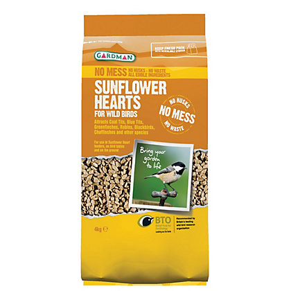 Image for Gardman Sunflower Hearts - 4kg from StoreName