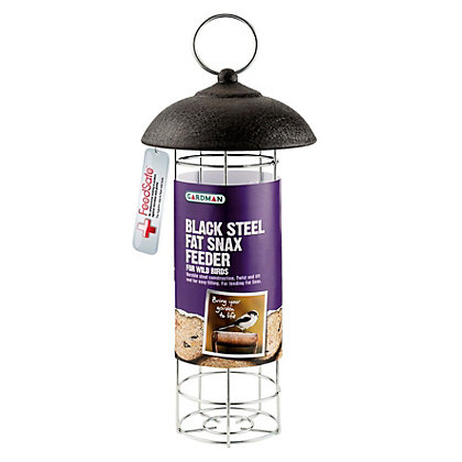 Image for Gardman Black Steel Fat Snax Feeder from StoreName