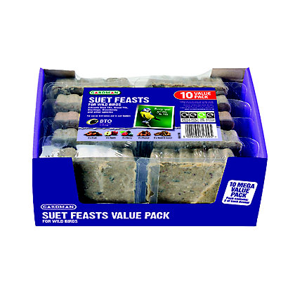 Image for Gardman Suet Feast (Pack of 10) from StoreName
