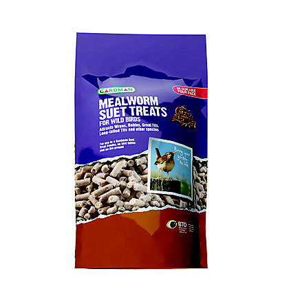 Image for Gardman Mealworm Suet Treats - 550g from StoreName