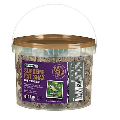 Image for Gardman No Net Supreme Fat Snax Tub - 4kg from StoreName