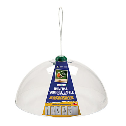Image for Gardman Universal Squirrel Baffle - Clear from StoreName