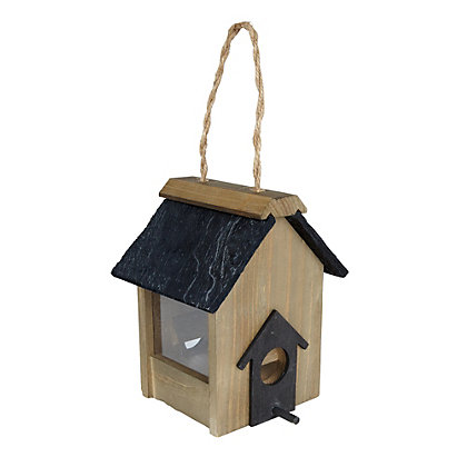 Image for Gardman Seed Feeder with Slate Roof from StoreName