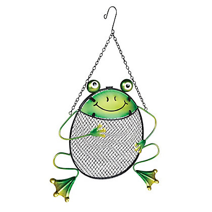 Image for Gardman Frog Peanut Feeder - Green from StoreName