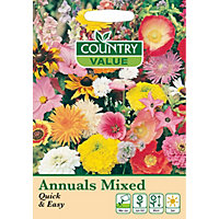 Annuals Mixed Quick & Easy Seeds