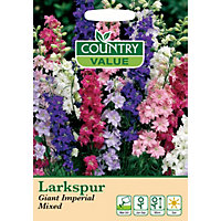 Larkspur Giant Imperial Mixed Seeds