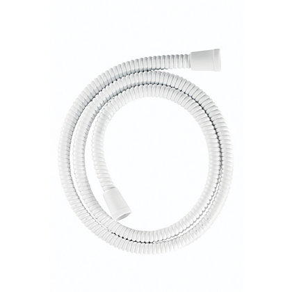 Image for Croydex PVC Shower Hose 1.25m - White from StoreName