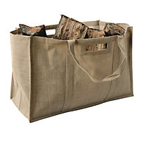 Mansion Heavy Duty Log Bag - Jute