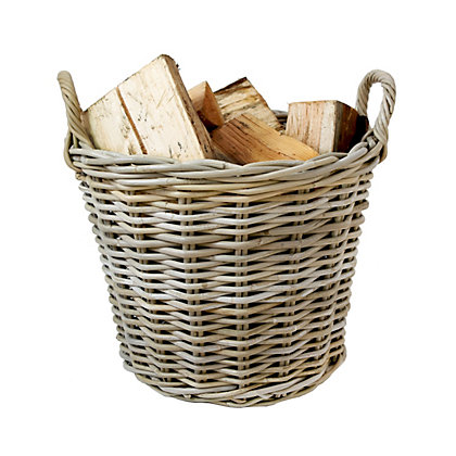 Image for Mansion Kubu Log Basket from StoreName