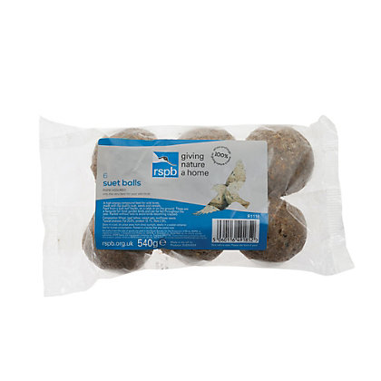 Image for Gardman RSPB Suet Balls - 6 Pack from StoreName