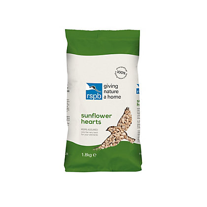 Image for RSPB Sunflower Hearts - 1.8kg from StoreName