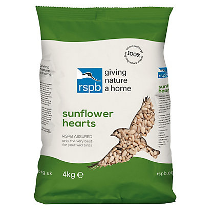 Image for RSPB Sunflower Hearts - 4kg from StoreName