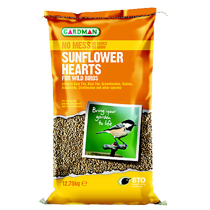 Image for Gardman RSPB Sunflower Hearts -12.75kg from StoreName