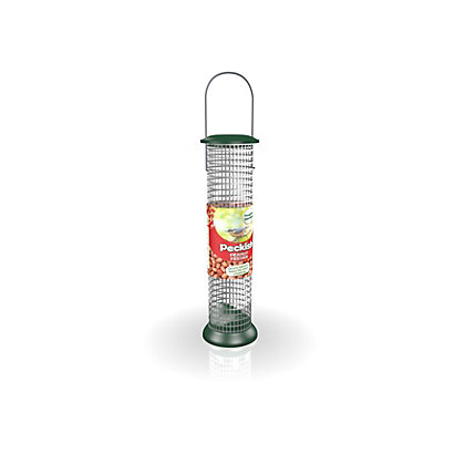 Image for Peckish All Weather Large Peanut Feeder - Green from StoreName
