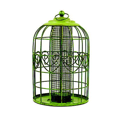 Image for Peckish Squirrel Proof Peanut Feeder - Green from StoreName