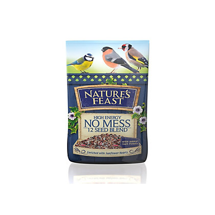 Image for Natures Feast High Energy No Mess 12 Seed Blend Wild Bird Food Mix - 12.75kg from StoreName