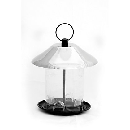Image for Natures Feast Royal Volume Seed Feeder - Silver from StoreName