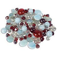 Red Glass Marbles - 1kg