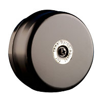 Byron 1210 Wired Dome Bell - Black