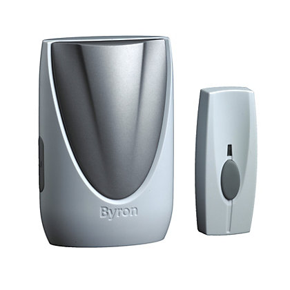 Image for Byron BY206 Wireless Portable Door Chime Kit from StoreName