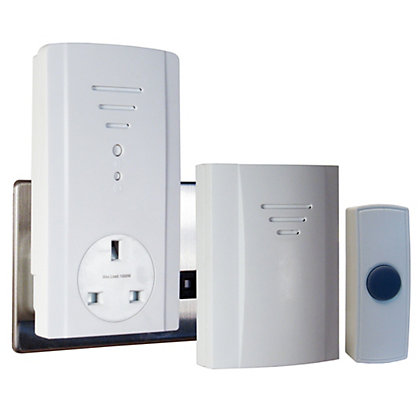 Image for Byron B323 Wireless Port & Plug-Thru Chime Kit from StoreName