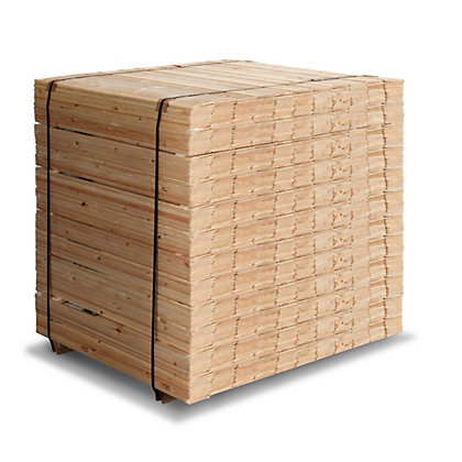 Image for Softwood V Grooved Cladding 900mm - 10 pack from StoreName