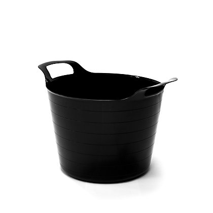 Image for 40L Black Flexi Tub from StoreName