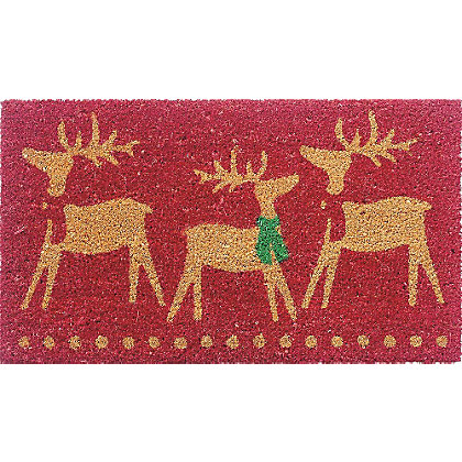 Image for Assorted Coir Christmas Doormats from StoreName