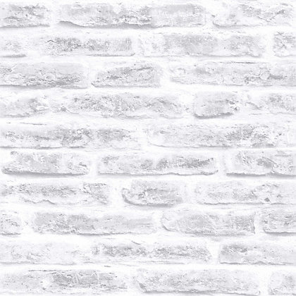 Image for Superfresco Easy Paste the Wall Industry Blanc Wallpaper from StoreName
