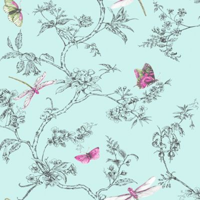 Superfresco easy textured washable wallpaper - Butterfly wallpaper homebase ...