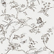 Superfresco Easy Nature Trail White Mica Wallpaper