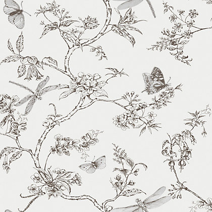 Image for Superfresco Easy Nature Trail White Mica Wallpaper from StoreName