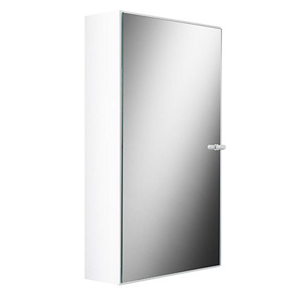 Image for Croydex Kaya Small Single Door Cabinet - White from StoreName