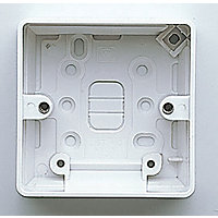 MK Surface Mounted Box Single 40mm