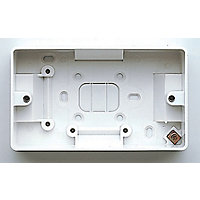MK Surface Mounted Double Box 40mm