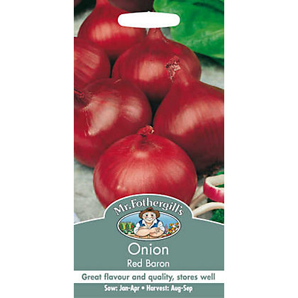 Image for Onion Red Baron (Allium Cepa) Bulbs from StoreName