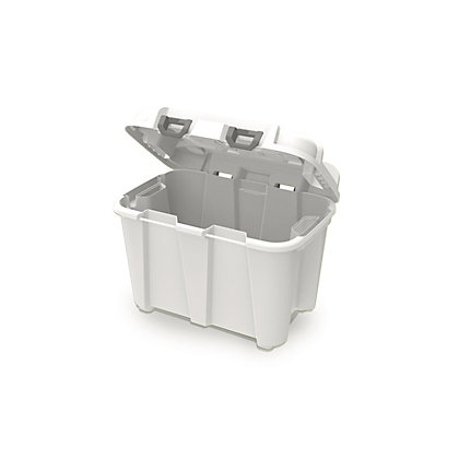 Image for Heavy Duty White 50L Storage Trunk from StoreName