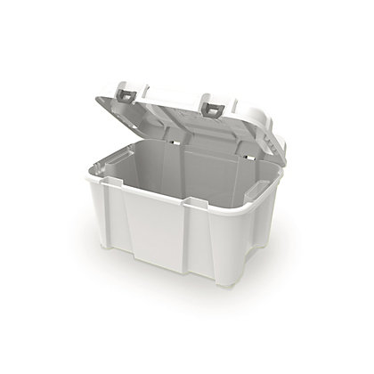 Image for Heavy Duty White 80L Storage Trunk from StoreName