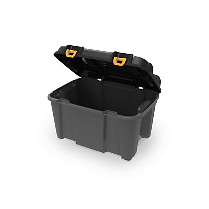 Image for Ezy Storage 80L Heavy Duty Storage Trunk - Black from StoreName