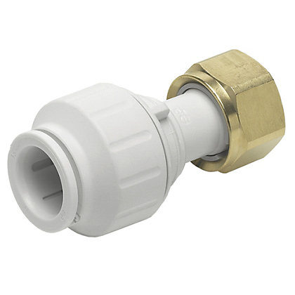 Image for JG Speedfit Straight Tap Connector - 15mm x 3/4in from StoreName