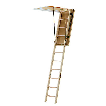 Image for Werner Timber Loft Access Ladder & Frame from StoreName