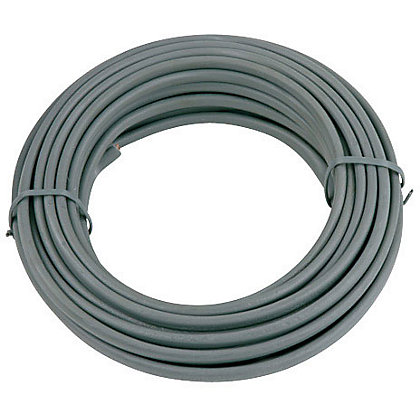 Image for Twin and Earth Cable 1.5 sq mm 6242YH Grey 10m from StoreName